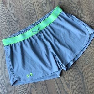 Under Armour compression waistband shorts